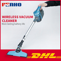 FUNHO 605 2 in 1 Vertical Hand held Vacuum Cleaner With Large Capacity Dust Box Low Noise Triple Filter Dust Collector