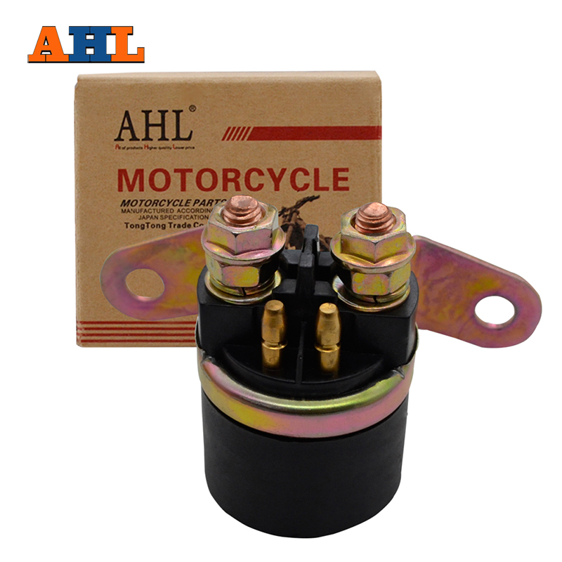 AHL Motorcycle Starter Relay Solenoid For SUZUKI GS 1150 GS1150 GN125 GN 125 GS300 GSF 400 GSF400 GS500 GSX600 GSX 600 LS650-in Motorbike Ingition from Automobiles & Motorcycles