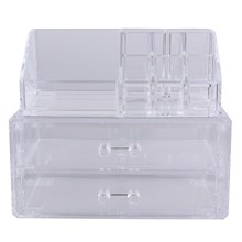 Bestnote Acryl Cosmetic Organizer Lagerung Einsatzhalter Box 2016 design kostenloser versand
