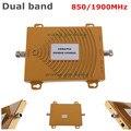 65dbi dual band de reforço CDMA 850 PCS 1900 MHZ DUAL BAND de REFORÇO CDMA PCS + repetidor, PCS booster, PCS amplificador DE SINAL repetidor