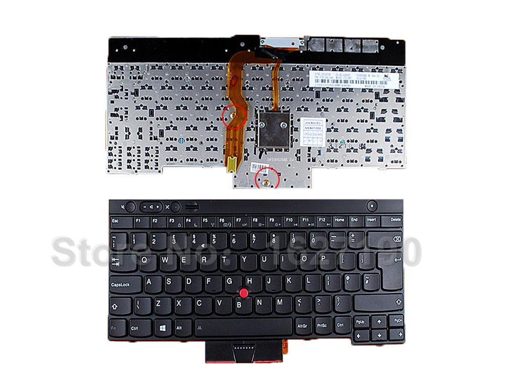 for Lenovo Thinkpad T530 T530I X230 X230I X230T Keyboard Backlit Brazil Teclado