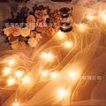 5 m 40 luces de modelos de la batería luces led parpadeantes luces de la secuencia luces estrelladas luces De Navidad boda pequeña estrella de cinco puntas estrella