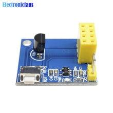 ESP8266 ESP-01 ESP-01S DS18B20 sıcaklık nem sensörü modülü esp 8266 Wifi NodeMCU akıllı ev IOT DIY kiti