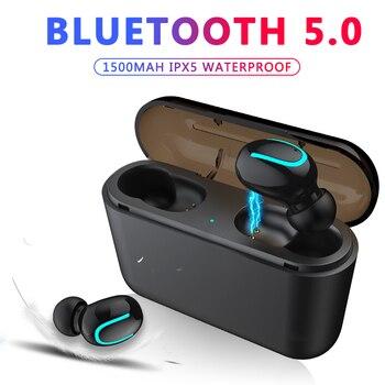 ZAPET Bluetooth 5,0 наушники TWS беспроводные наушники Bluetooth наушники гарнитура спортивные наушники игровые наушники