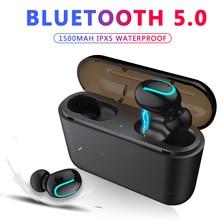 ZAPET Bluetooth 5 0 Earphones TWS Wireless Headphones Bluetooth Earphone Handsfree Headphone Sports Earbuds Gaming Headphones
