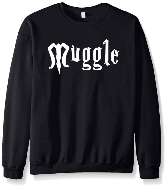 2017 new fashion Men's streetwear Muggle sweatshirt funny brand male tracksuit autumn winter high quality new arrival hoody