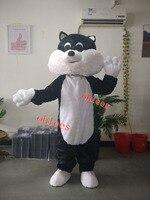 Ohlees прекрасный кот маскарадный костюм настроить День рождения Косплей игрушка в подарок голова животного Хэллоуин костюм талисмана
