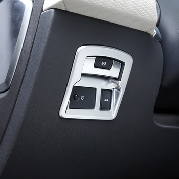 Para Land Rover Range Rover Velar 2017 2018 Interior Fosco Painel Frontal Painel Lateral Decora Adesivo Tampa 2 carro styling