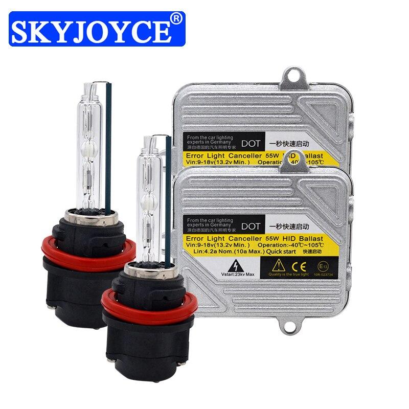 Kit ampoule HID moto SKYJOYCE 55 W Hi/Lo Bixenon HS5 DC 55 W Ballast lumineux rapide pour PCX125 PCX 125 150 HS5 Kit phare moteur