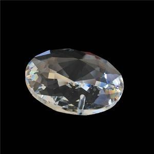 Image 4 - 100 יח\חבילה, 30 MM עגול פנינה פרח קריסטל Loose חרוזים, חומר עבור זרי גביש/גדיל, חתונה/עוגת דקור, Freeshipping