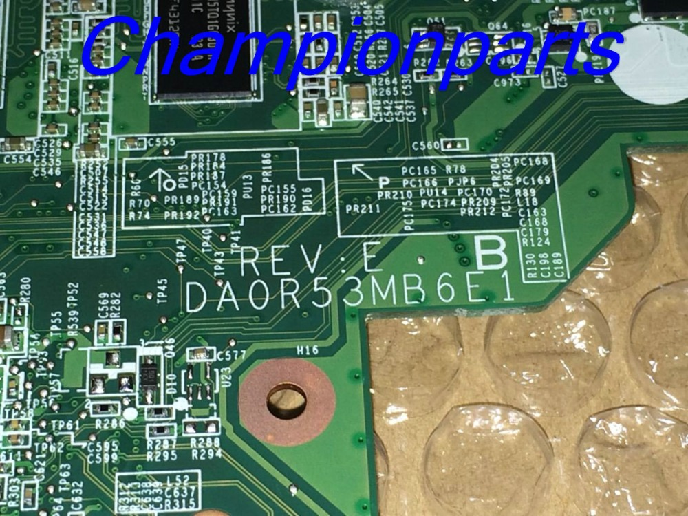 ФОТО NEW FREE SHIPPING DA0R53MB6E1 REV : E R53  LAPTOP MOTHERBOARD For HP Pavilion G4 G6 G7 Notebook PC