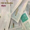 50 UNIDS PCD 12-Pin Manual Maquillaje Permanente Hoja de Cejas Agujas de Tatuajes Para Microblading Pluma Envío Libre
