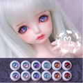1Pair Retail Mini Doll Accessories High Quality Acrylic 12MM 14MM 16MM   BJD MSD Eyes For BJD Dolls
