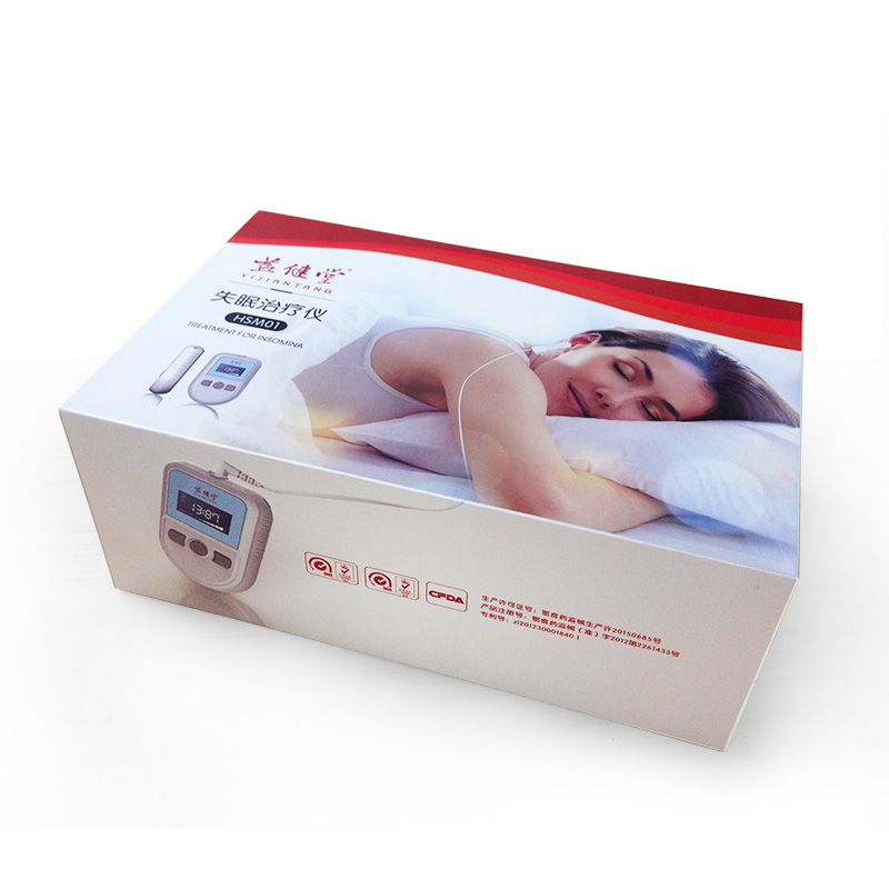 Insomnia Therapy Anxiety Relief Alpha Stim Electronic Acupuncture Apparatus Sleeping Aid Device CES Therapy Anti Depressed