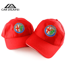 10pcsfor alfa romeo 3D Hat Cap Car Sline Logo Moto Racing Baseball Cap Adjustable Casual Hat  159 147 156 giulietta 147 159