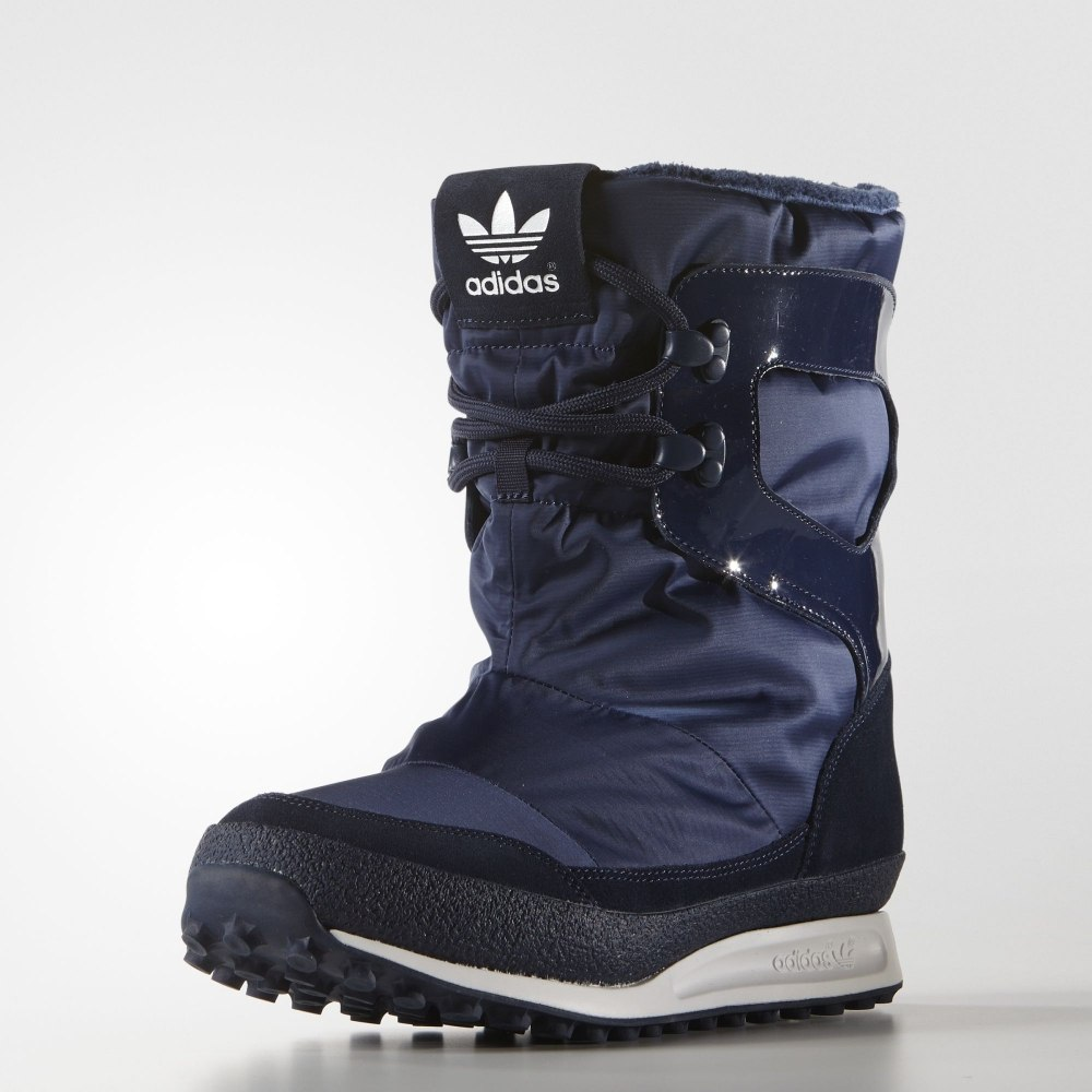 Boots Adidas S81384 sports and entertainment for women vintage suede and buckle design snow boots for women