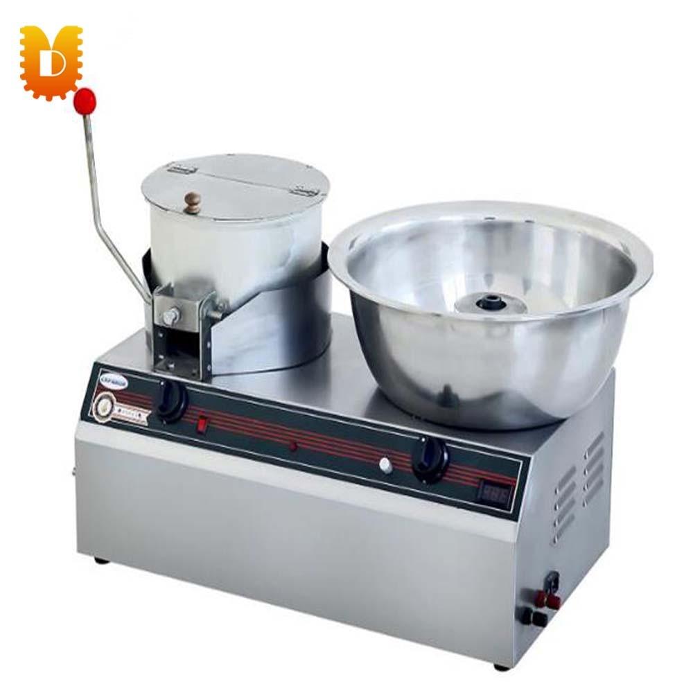 Machine multifonctionnelle de combinaison de gaz d'acier inoxydable de UD-018 (machine de maïs soufflé et machine de barbe à papa)