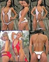 No crotch Two piece set * Sportswear * Swimwear * 3211 * Ladies Thongs Underwear Panties T back Swimsuit Bikini Free Shipping