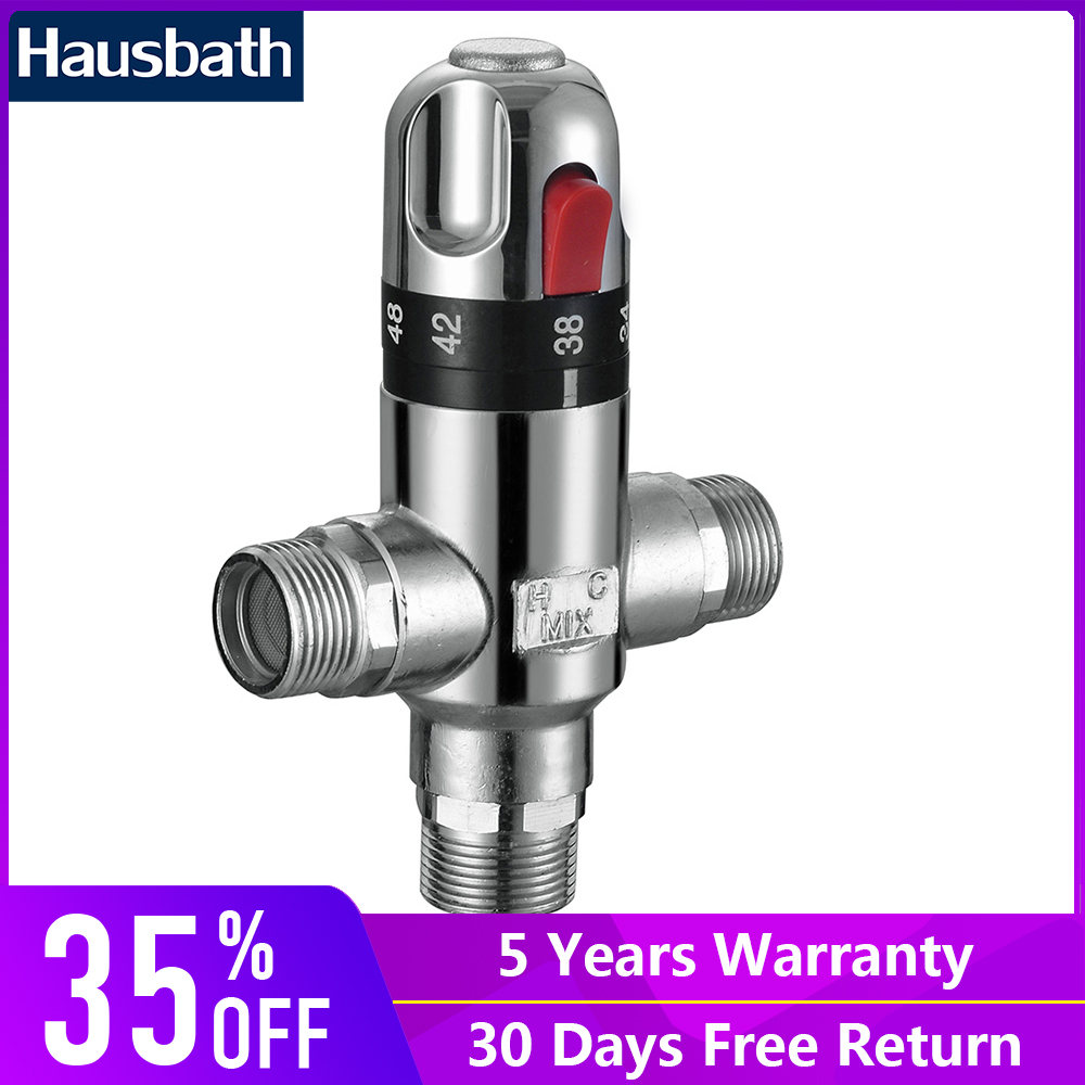 Thermostatic Mixing Valve Triangle Valve Bathroom Accessories Water Mixer Faucet Catridges Temperature Control Solar 1 2 brass thermostatic mixing valve 3 4 bathroom faucet temperature mixer control thermostatic valve automatic constant