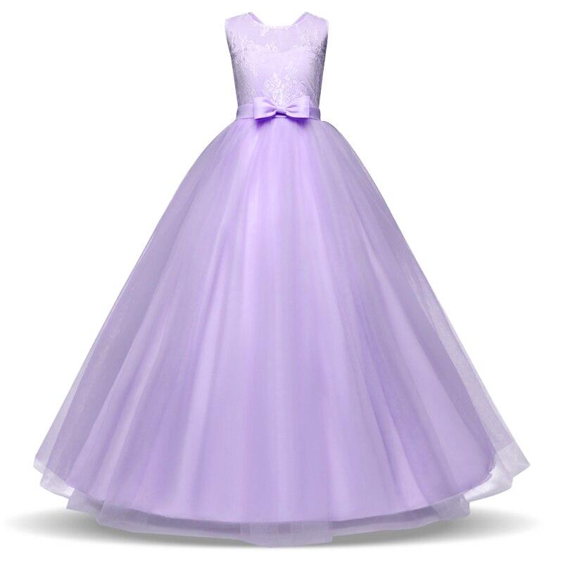 2018 New Kid Princess Dress Party for Wedding Bridesmaid Girls ...