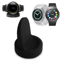 Qi Wireless Cradle Charger For Samsung Gear S2 Charging Cradle Dock Charger With USB Cable