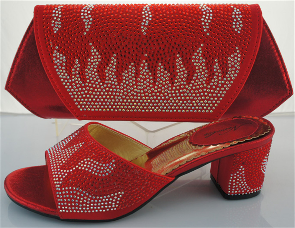 ФОТО RED ME2218 High quality shoes and matching bag set with size 38-43,High quality shoes with Free shipping by DHL.