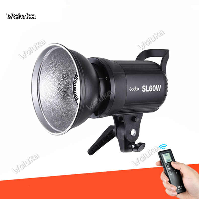 Godox LED Video Light SL-60W 5600K White Version Video Light Continuous Light Bowens Mount for Studio Video Recording CD50T03 P