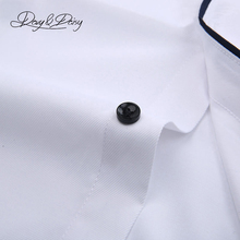Solid Formal Business Shirt High Quality Men Shirt Long Sleeve Twill