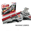 Lepin 05042 Star War Series The Republic Fighting Cruiser Set Building Blocks Bricks Mini Educational Toys 8039  figures for kid