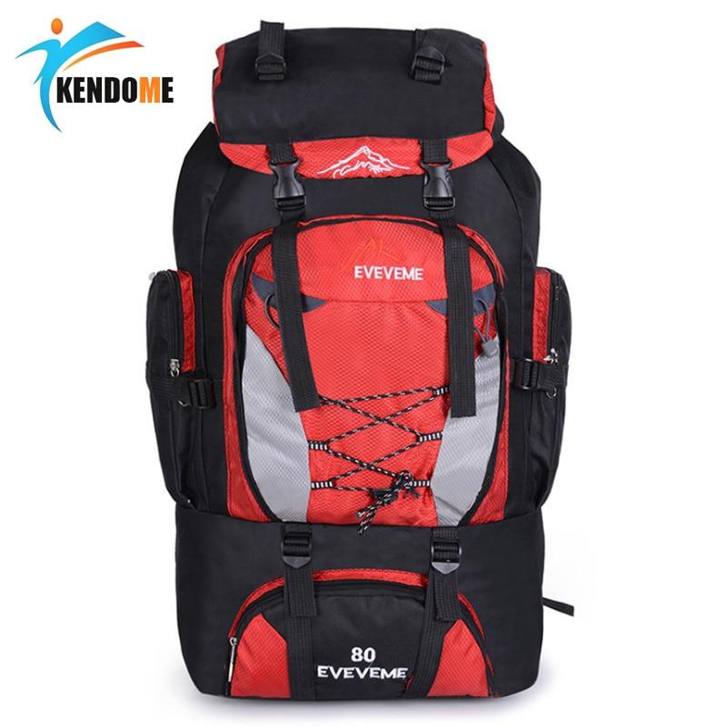 56-75L Outdoor Camping Hiking Backpack Travel Rucksack Climb Mountaineering Bag Pack Mochila Women/&Men