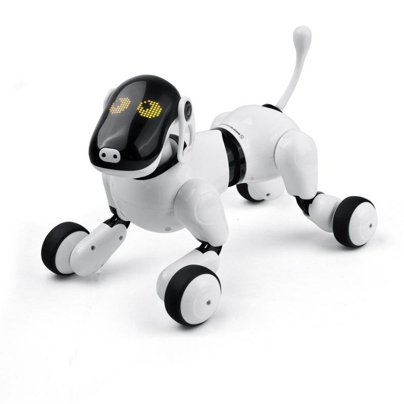 Electrónica para perros mascotas Control remoto inteligente robot electrónico inalámbrico Robot parlante inteligente perro juguetes para niños Año Nuevo regalos de navidad - 3