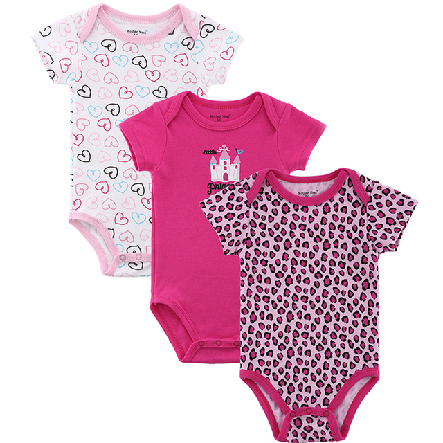 Short Sleeve Baby Boy & Girl Jumpsuits & Rompers