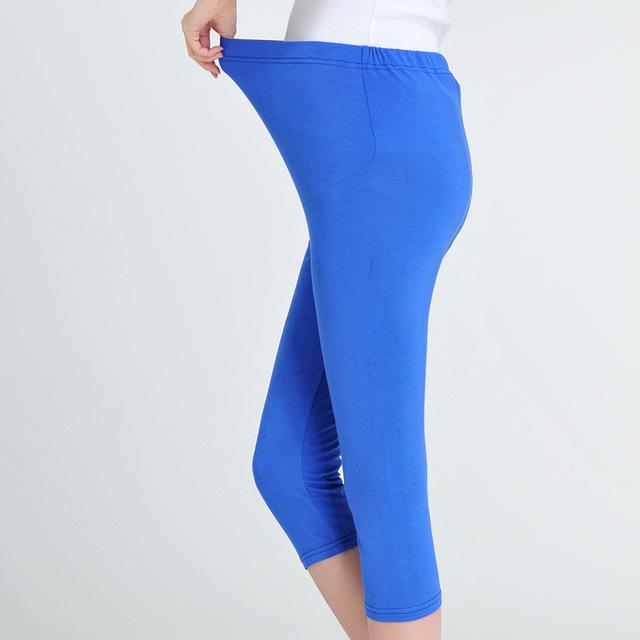 2016 novas mulheres de roupas de maternidade leggings Mulheres Grávidas calças Senhoras calças cortadas maternidade gestantes roupas femininas F723