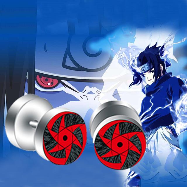Naruto Sharingan Eyes Earrings