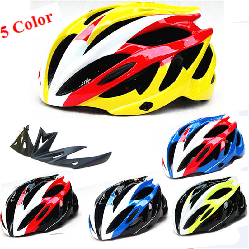 New Hot Selling Integrally Molding Helmet Riding Helmet Bicycle Helmet Mountain Bike Road Bicycle Hat Bicycle Helmet 21 Holes classic solar energy safety helmet hard ventilate hat cap cooling cool fan delightful cheap and new hot selling