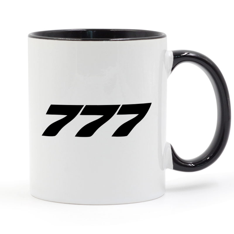 Boeing 777 Tasse Café Lait En Céramique Tasse Creative BRICOLAGE Cadeaux Home Decor Tasses 11 oz T1275
