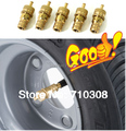 High Quality 100% Brass Material Adjustable Tire Deflator Kit 4x4 Tire Deflator Off Road Accessories