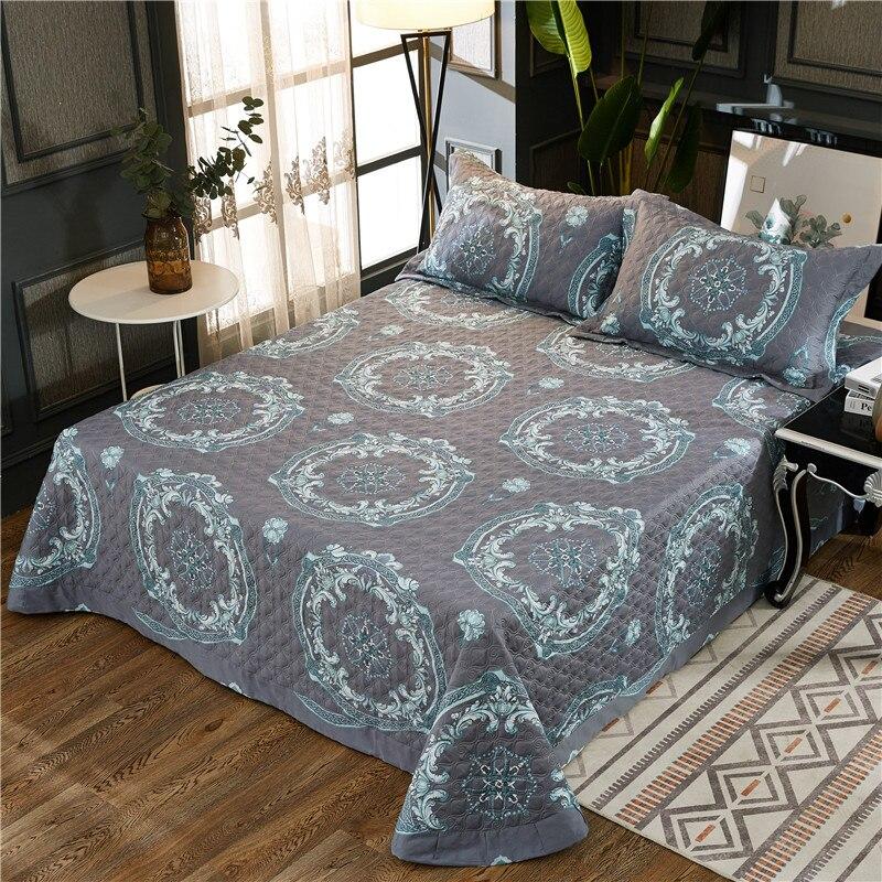Expressief Katoen Sprei King Queen Size Bed Gespreid Set Bed Cover Set Matrashoes Deken Kussensloop Couvre Lit Colcha De Cama Geweldige Prijs
