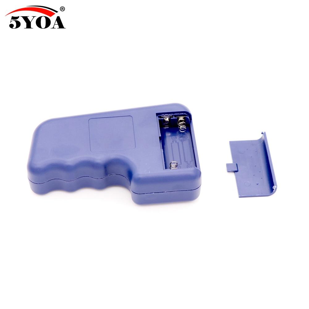 Image 5 - Handheld 125KHz EM4100 RFID Copier Writer Duplicator Programmer Reader + EM4305 T5577 Rewritable ID Keyfobs Tags Card-in Control Card Readers from Security & Protection