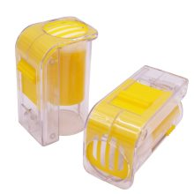 6 pcs 90*41.5mm Bee Queen Marking Bottle Hand Push Bee Mark Cage Bee Health Marker The Best Beekeeper Apiculture Is A Good Tool(China)