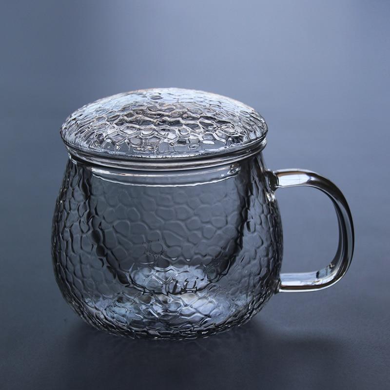 Стекло чайник воды Стекло чайник фильтр из нержавеющей стали высокая термостойкость бытовой чайник pcb-5
