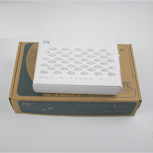 Image 2 - Original ZTE F460 V 3,0 EPON Terminal, FTTH ONU, 4FE + 1 stimme ports + wifi port Route Modus Englisch Firewar