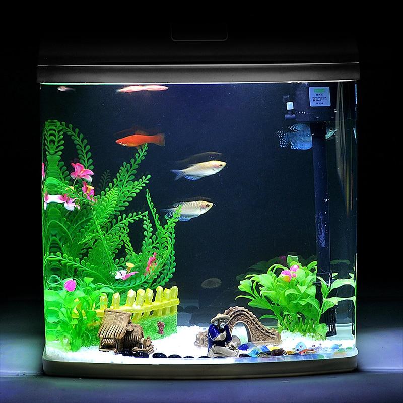 Kyrgyzstan printed mini aquarium fish tank creative small for Mini fish tank