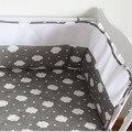Frete grátis Malha Respirável Crib Bumpers Fundamento Do Bebê Berço Berço Cama Em Torno de Bebê Forro Sólida Protetor 200*28 CM
