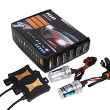 Vehemo 55W 8000K Xenon H7 HID Kit Car Auto Headlight Bulb Slim Ballast Slim Kit Waterproof Bright Universal brand new 55w car xenon kit hid metal ballast bulb dc auto headlight headlamp 3000k 15000k for xf 2009 2010