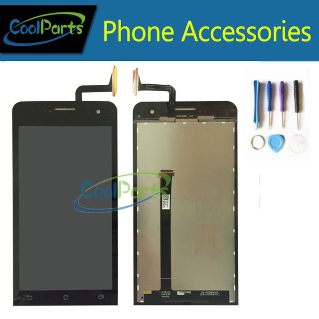 Black Replacement Part For Asus Zenfone 5 LCD Display and Touch Screen Digitizer Assembly With Tools 1PC/Lot