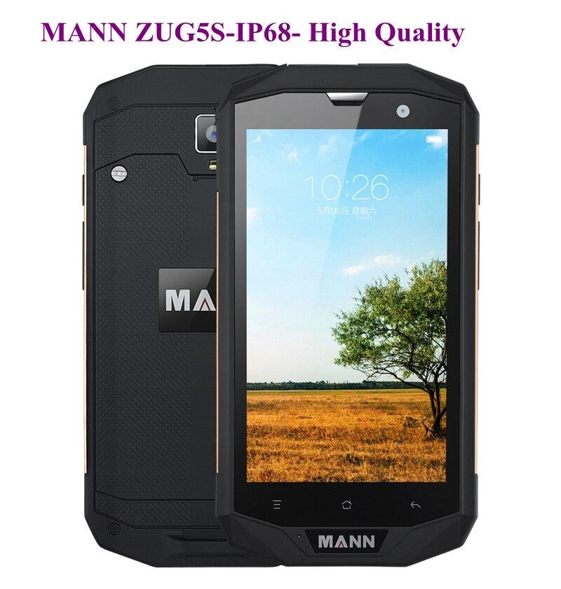 Original MANN ZUG 5S ZUG5S 5.0''HD OGS WVGA IPS 1280x720 Android 4.4.2 IP67 2GB RAM 16GB ROM 8.0MP 4G FDD-LTE WCDMA 4050Mah