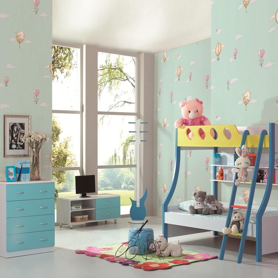 aliexpress : hellblau engel kind schlafzimmer tapete kind, Schlafzimmer entwurf
