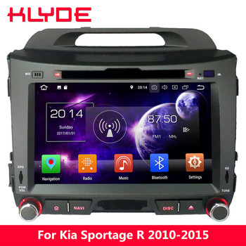 KLYDE 4G Octa Core PX5 Android 8.0 7.1 6 4GB RAM 32GB ROM Car DVD Player Radio For Kia Sportage R 2010 2011 2012 2013 2014 2015