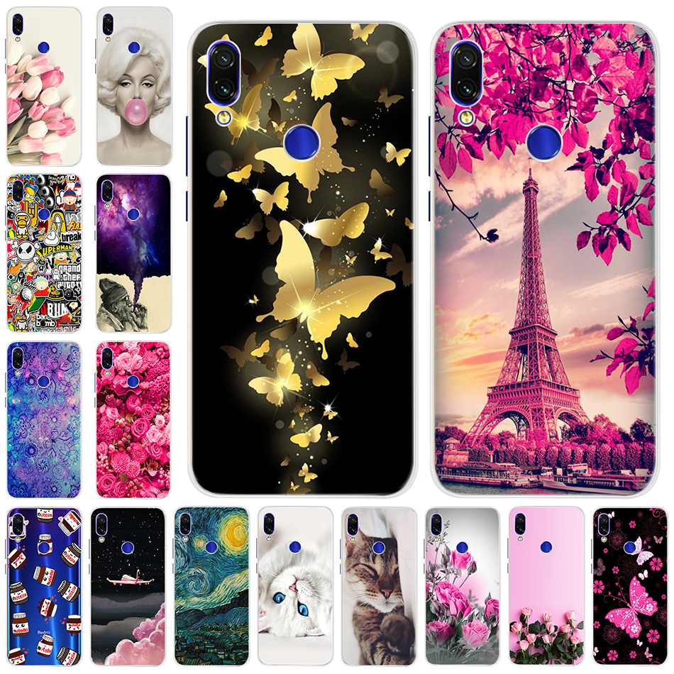 Fashion Cool Case For <font><b>Xiaomi</b></font> <font><b>Note</b></font> <font><b>7</b></font> <font><b>Pro</b></font> Silicone Soft TPU 3D Back Cover Cases For <font><b>Xiaomi</b></font> <font><b>Redmi</b></font> <font><b>Note</b></font> <font><b>7</b></font> <font><b>global</b></font> <font><b>Version</b></font> Phone Bag image